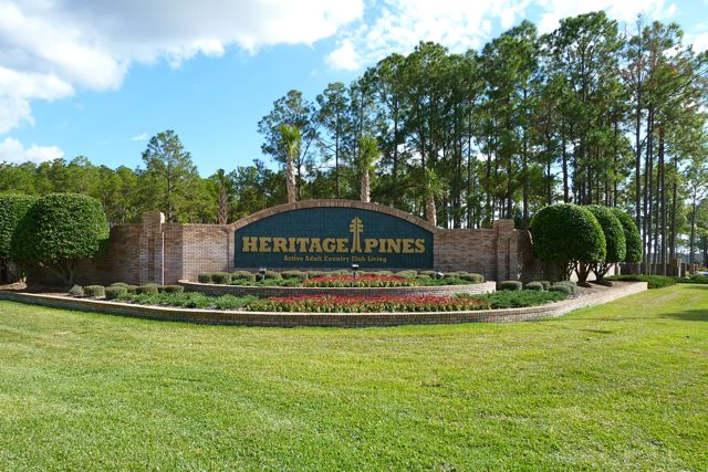 Heritage Pines is a lovely 55+ community in Florida that offers resort-style living.