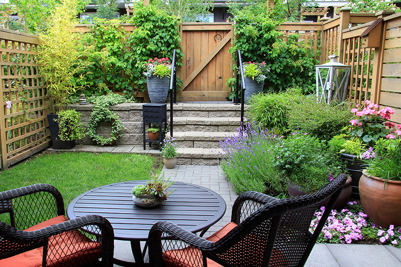 See how you can maximize your small outdoor space.