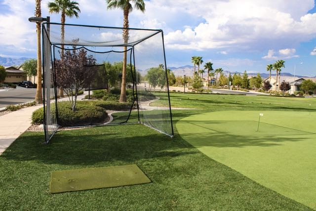 Sports lovers can select their game of choice with putting greens, tennis, basketball and more.
