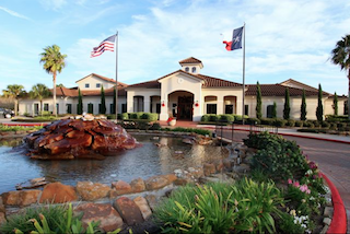 Bellavita at Green Tee is an attractive 55+ community 30 miles south of Houston.