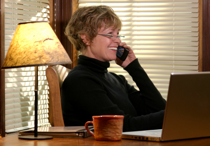 Many baby boomers are leaving their 9 to 5 in favor of working from home,
