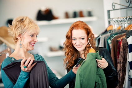 Retail sales is a wonderful option for part-time work, especially at the holiday season.