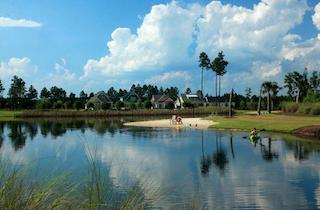 Brunswick Forest is an active lifestyle community dotted by scenic lakes offering scenic vistas.