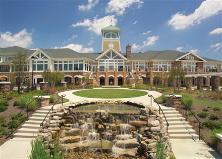 Carolina Preserve is a fabulous Del Webb active adult community in the Raleigh-Durham area.