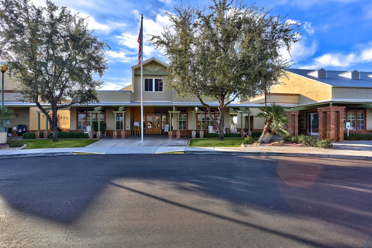 Arizona Traditions has a beautiful clubhouse that offers 20,400 square feet of amenities.