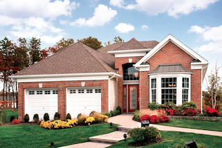The model homes at the Enclave at Shrewsbury show off the beautiful workmanship throughout.