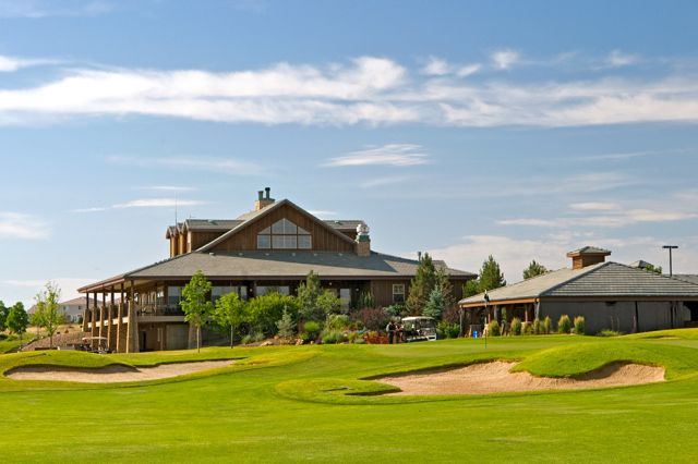 The Green Valley Ranch Golf Club features 27-holes of challenging play and a beautiful clubhouse.