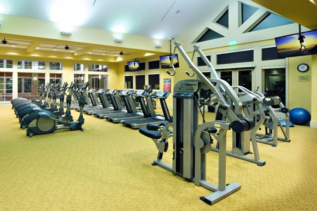 Today's active adults would rather spend time at the fitness center than spend time on home maintenance.