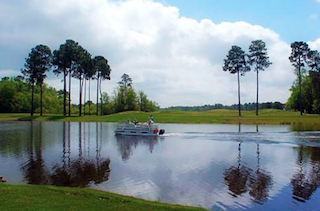 Hilton Head Lakes offers boat access and water front living in a picturesque setting.