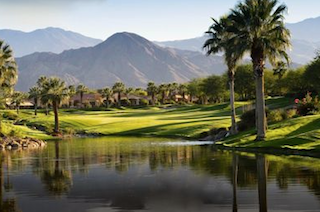 Indian Ridge Country Club boasts breathtaking mountain views in sunny Palm Desert, California.