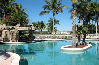 Seven amazing outdoor swimming pools grace the landscape at Legends Golf and Country Club.