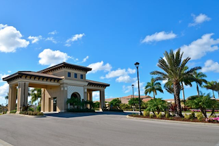 Marbella Lakes is popular among Florida snowbirds thanks to its private entry and luxury amenities.