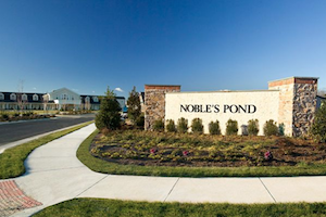 Noble's Pond features modern amenities, attractive homes and a charming Americana vibe.