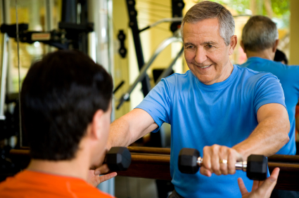 Working with a personal trainer can help jump start your fitness routine.