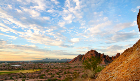 Mesa, Arizona is centrally located 20 minutes outside of Phoenix and is near both Scottsdale and Chandler.