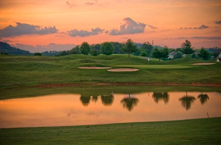 The 18-hole Rarity Bay golf course offers challenging play, breathtaking views and lush grounds.