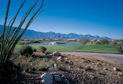 Golfers of any level are spoiled with 63 amazing holes of golf at SaddleBrooke in Tucson, Arizona.