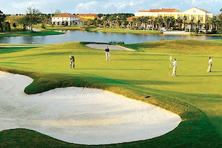 The semi-private Stonegate Golf Club includes two championship 18-hole golf courses.
