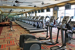 Residents can stay in shape with state-of-the-art fitness facilities including aerobic and dance studios.
