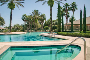 Legacy of Leesburg residents can enjoy the beautiful Florida weather at this gorgeous swimming pool.