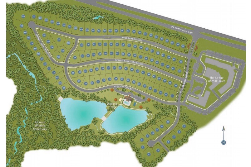 Check out The Springs of Mill Lakes, a new active adult community in Opelika, AL.
