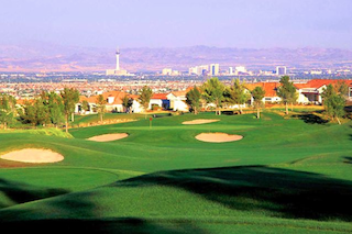 Sun City Summerlin boasts amazing views of the surrounding mountains and the Las Vegas strip.