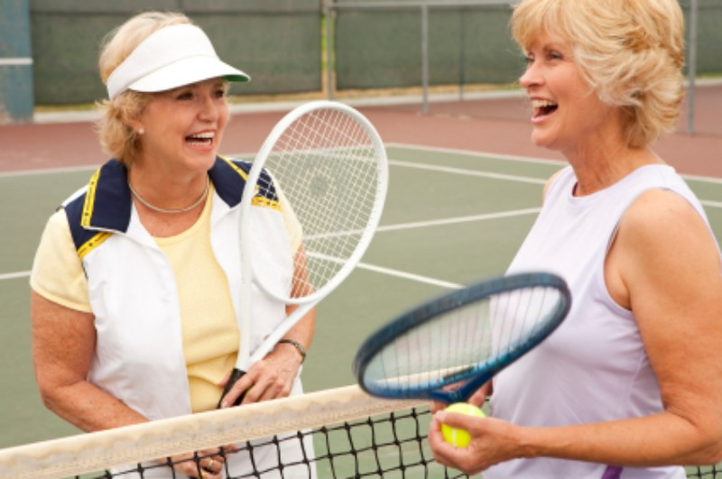 The game of tennis is a wonderful sport to help active adults stay physically fit and mentally sharp.