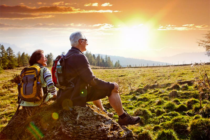 Hiking has become a popular activity among active adults, especially those fortunate enough to live close to the towering U.S. mountain ranges.