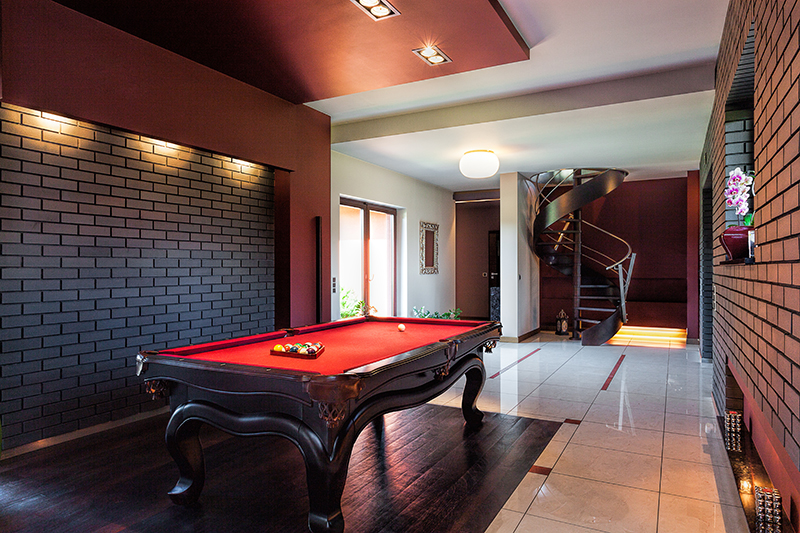 Check out this list of ideas for what to do with your basement!.