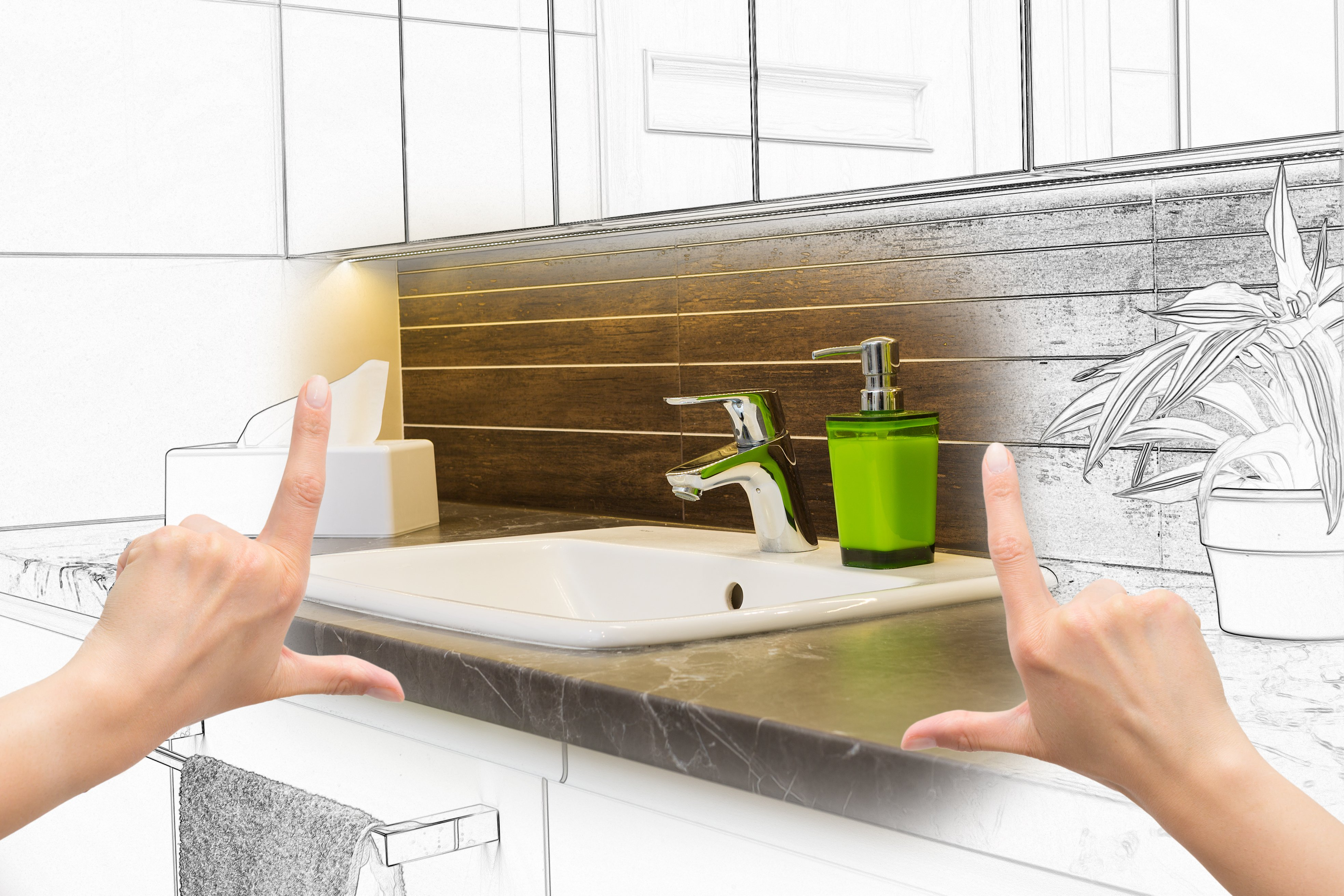 See how you can make your bathroom luxurious without having to empty your savings.