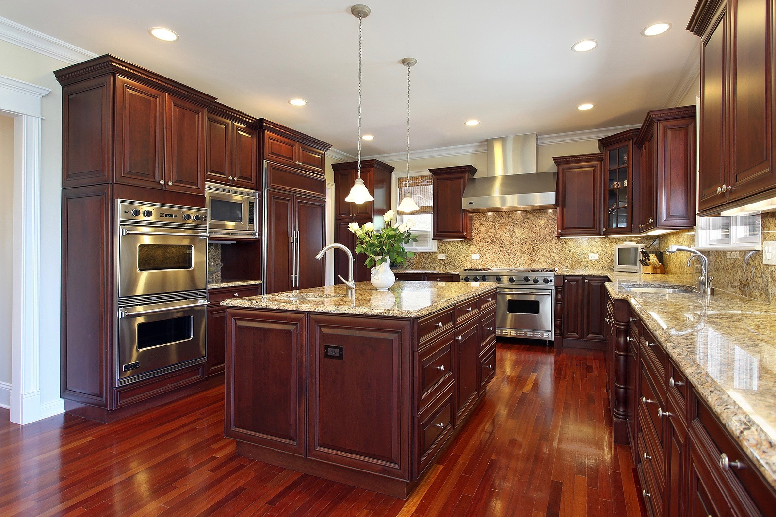 Kitchens can be the heart of a home, check out what some popular kitchens are using today.