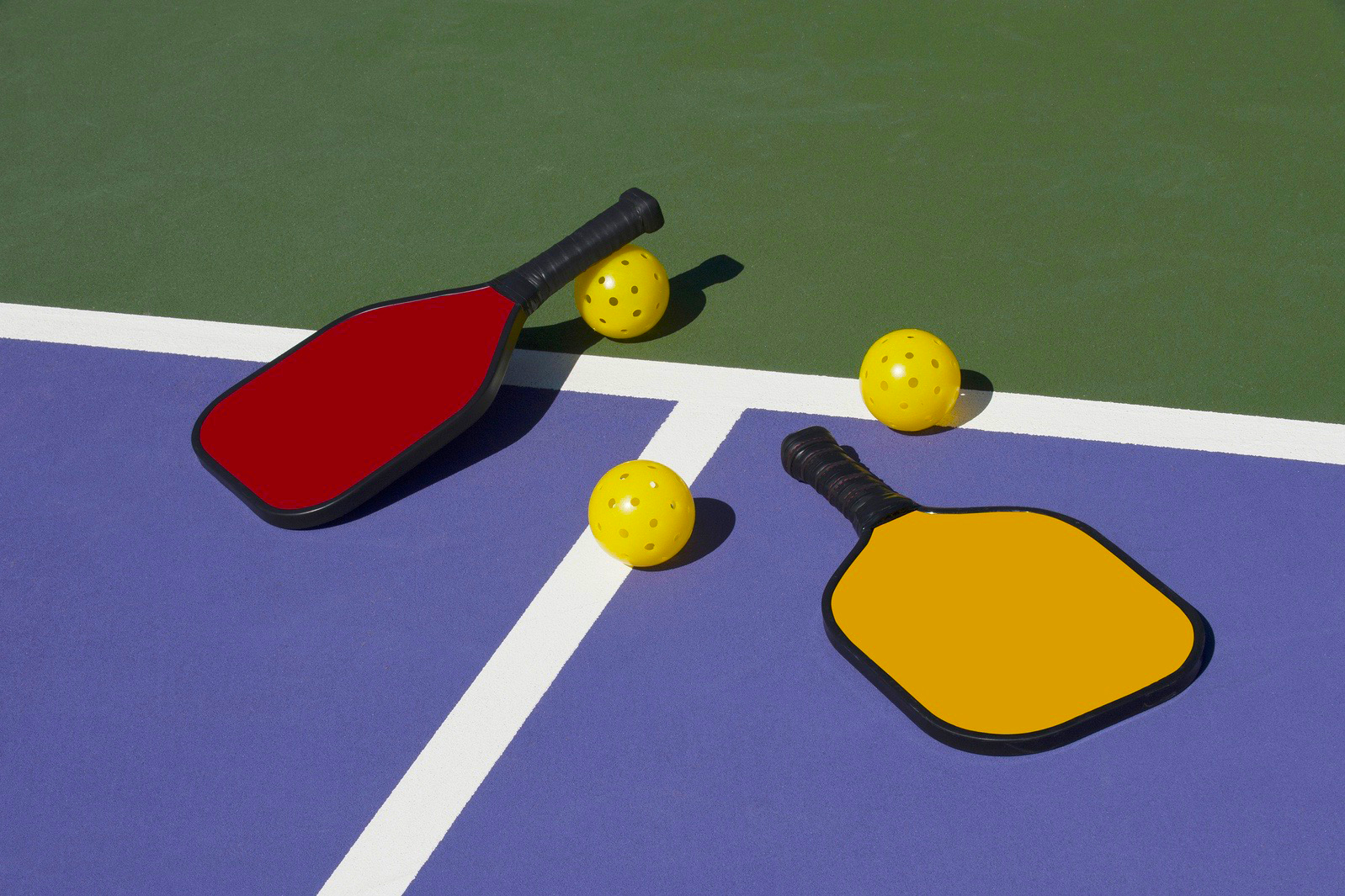 Sun City Grand has just opened ten new pickleball courts!