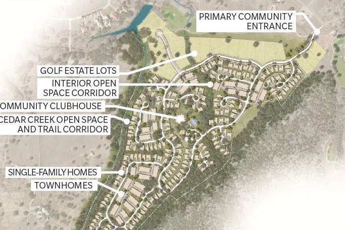 Check out what the plans are for the new 55+ community in Horsehoe Bay.