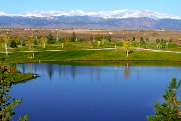 Anthem Ranch in Broomfield, CO is just one active adult community with great green spaces.