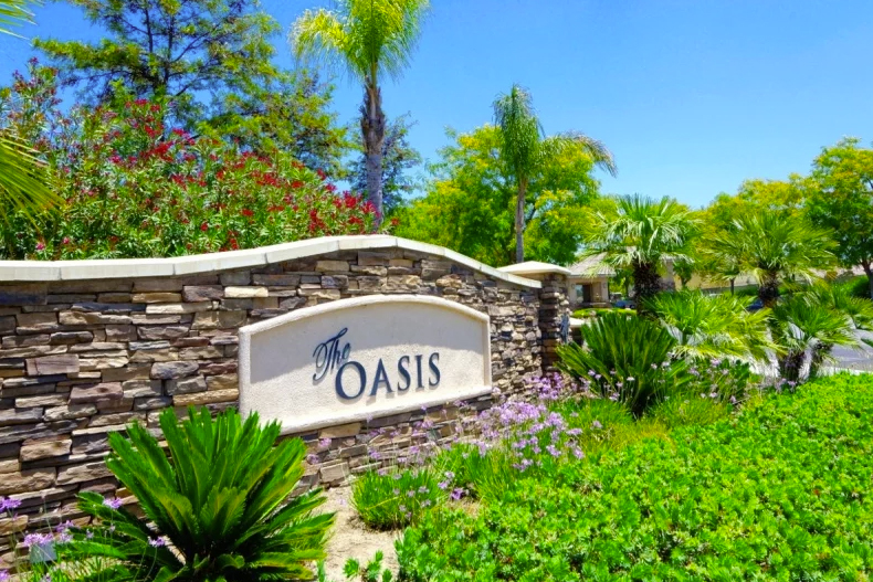 The Oasis certainly lives up to its name in Menifee, CA.