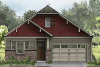 Elevate Homes by Dan Ryan builders will be the newest active adult home designs.