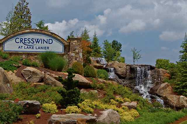 Cresswind at Lake Lanier in Gainesville, Georgia, is a tranquil gated community specifically designed for active adults aged 55 or better.