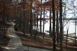The community is wrapped around the shores of Lake Oconee, Georgia's second largest lake. The man-made Georgia Power lake stretches along 400 miles of twisting shorelines and includes 19,000 acres of navigable water.