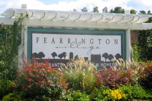 Fearrington Village in Pittsboro, North Carolina is an age-targeted community with 15 quaint neighborhoods situated on a historic farm site near Chapel Hill.