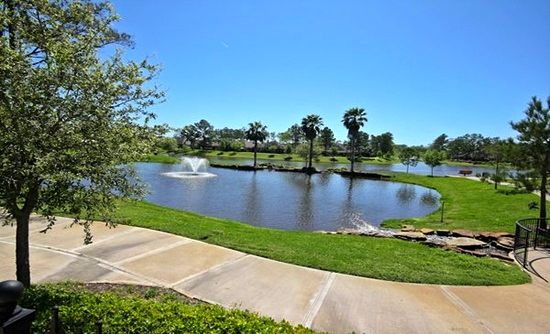 Residents can also enjoy the beautiful 11-acre lake and winding trails throughout the community.
