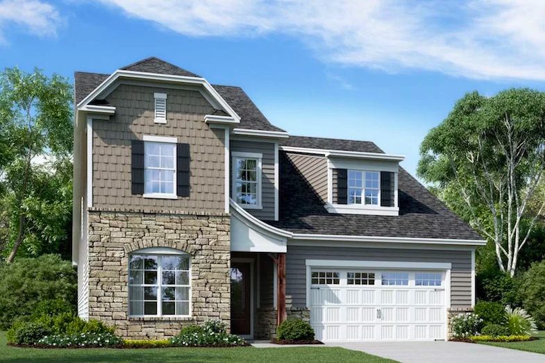 Blakeley is the newest 55+ community being built in Cary of North Carolina.