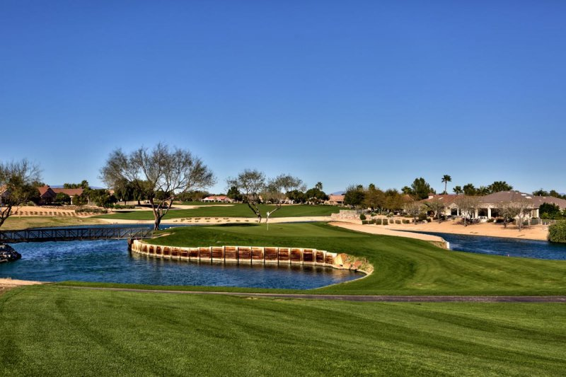 Sun City Grand offers not one, but four championship golf courses.