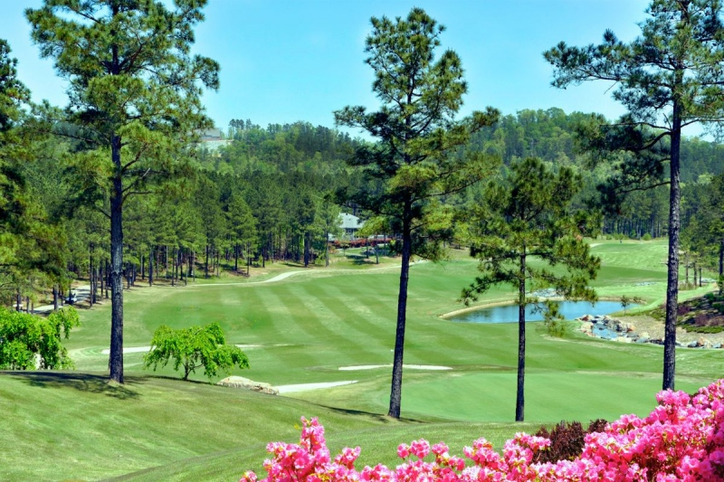 Many active adult communities are located along or near golf courses.