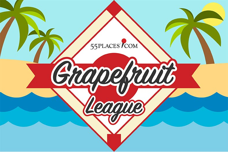 Grapefruit League logo for MLB spring training
