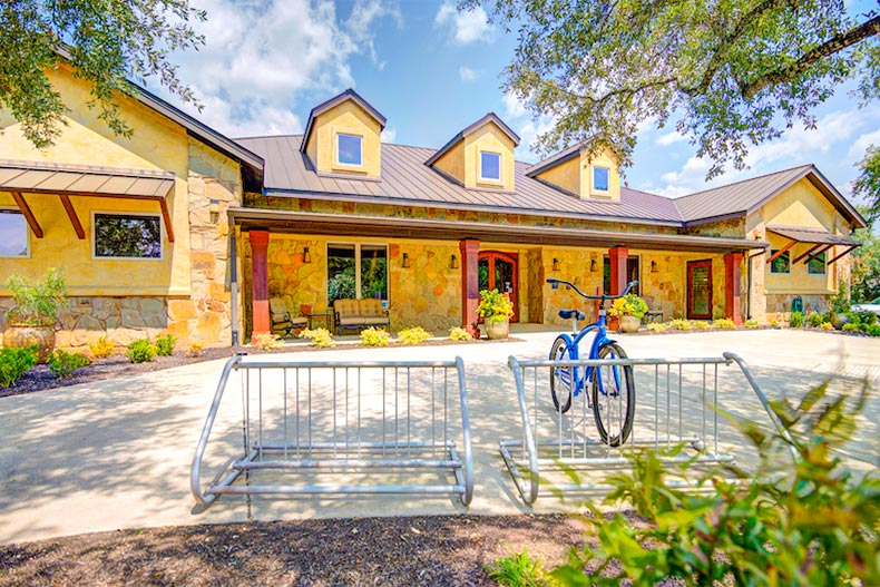 Heritage Oaks is an exclusive active adult community about 30 minutes from downtown Austin.