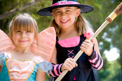 Halloween trick-or-treating and costume creations always brings out the child in anyone, young or old!