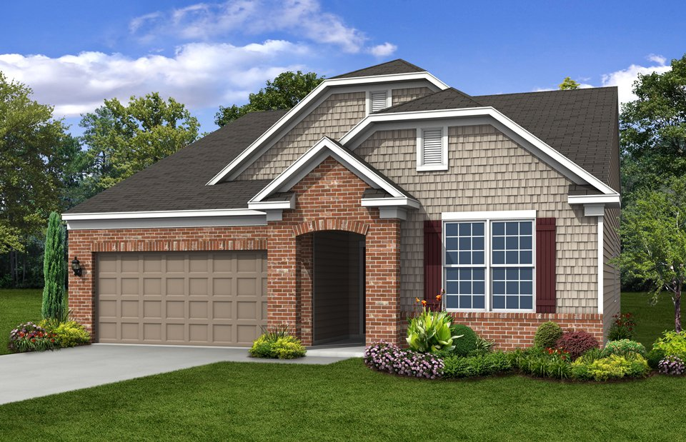Del Webb is building new 55+ homes in Vandalia in Indiana.
