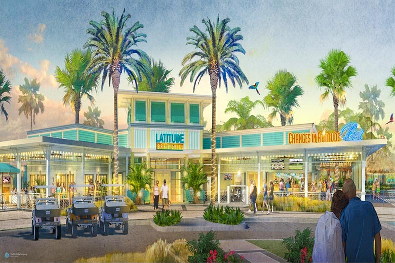 Rendering of Latitude Bar and Chill in Daytona Beach