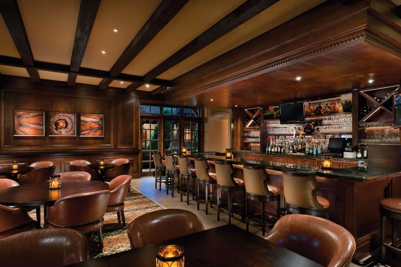 Wildhorse Bar & Grill in the clubhouse at Robson Ranch - Texas.