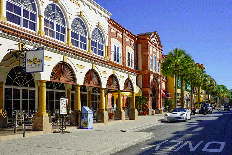 These communities have it all, even their own shopping centers!